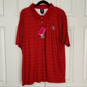 BRAND NEW NFL San Francisco Red Polo T-Shirt